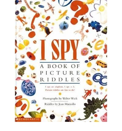 9780590540711: I Spy: A Book of Picture Riddles (Picture Books)