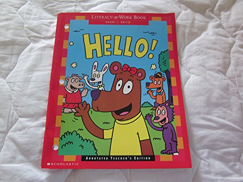 9780590547437: Hello! [Paperback] by Scholastic (Literacy At Work Book Reading and Writing Practice)