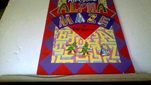 9780590550994: Awesome Alphamaze (Alpha Maze Puzzle Books)