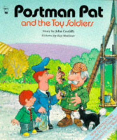 9780590551700: Postman Pat and the Toy Soldiers (Postman Pat Activity Books & Packs)