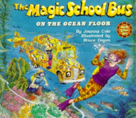 9780590552455: On the Ocean Floor (Magic School Bus)