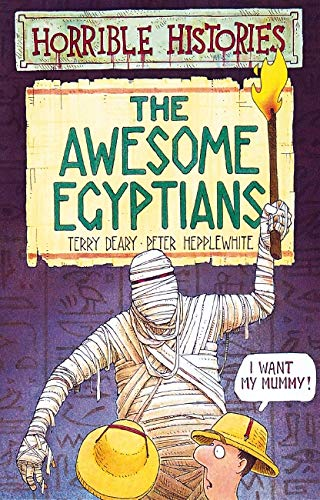 9780590552899: The Awesome Egyptians (Horrible Histories)