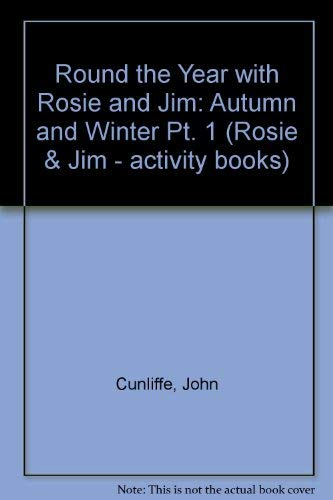 9780590553315: Round the Year with Rosie and Jim: Autumn and Winter Pt. 1 (Rosie & Jim - activity books)