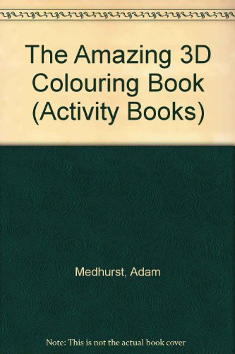 9780590554138: The Amazing 3D Colouring Book (Activity Books)