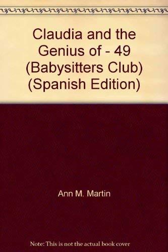 9780590554633: Claudia and the Genius of Elm Street (Babysitters Club)
