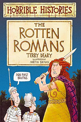 9780590554671: The Rotten Romans (Horrible Histories)