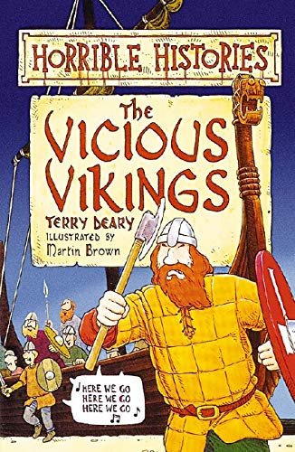 9780590557092: The Vicious Vikings : ( Horrible Histories )