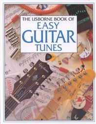 9780590566100: The Usborne Book of Easy Guitar Tunes
