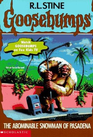 9780590568753: The Abominable Snowman of Pasadena (Goosebumps, No 38)