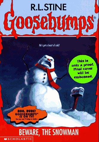 9780590568883: Beware, the Snowman (Goosebumps)