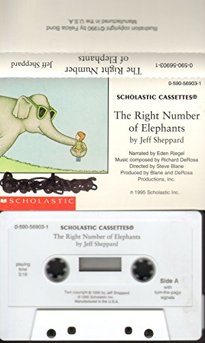 9780590569033: The Right Number of Elephants (Audio Cassette + Book)