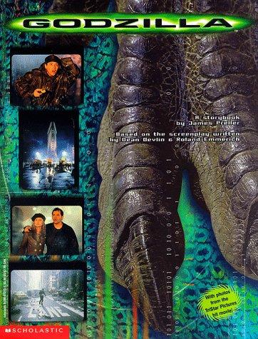 9780590572132: Godzilla Deluxe Storybook