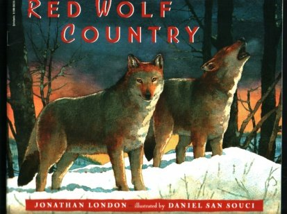 9780590592307: Red Wolf Country