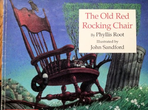 9780590605007: The Old Red Rocking Chair