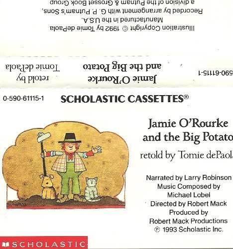 9780590611152: Jamie O'rourke and the Big Potato: An Irish Folktale, Book and Audiocassette