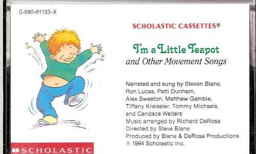 9780590611336: I'm a Little Teapot and Other Movement Songs (Audiocassette Tape)
