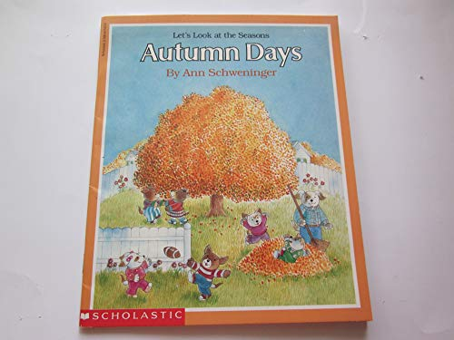 9780590617437: Lets Look At the Season Autumn Days