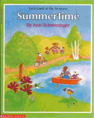 9780590617468: Summertime (Let's look at the seasons)