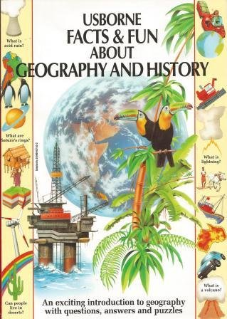 9780590621434: Usborne Facts and Fun About Geography and Hi