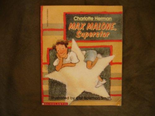 9780590629683: Max Malone, superstar