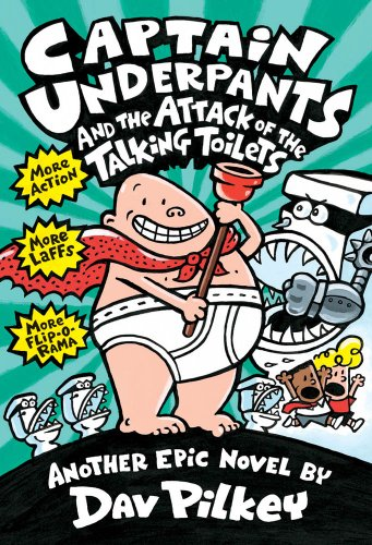 9780590631365: Captain Underpants and the Attack of the Talking Toilets (Captain Underpants #2)