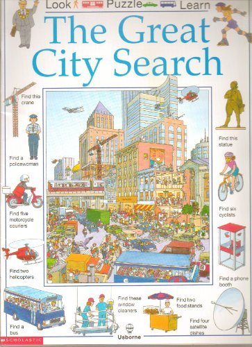 9780590631570: The great city search (Look, puzzle, learn)
