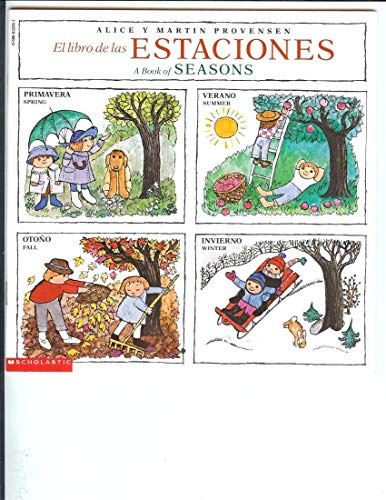 9780590632058: El Libro de las Estaciones A Book of Seasons (English/Spanish)