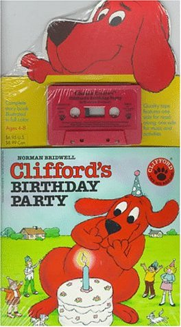 9780590632379: Clifford's Birthday Party Book/ Cassette Prepack