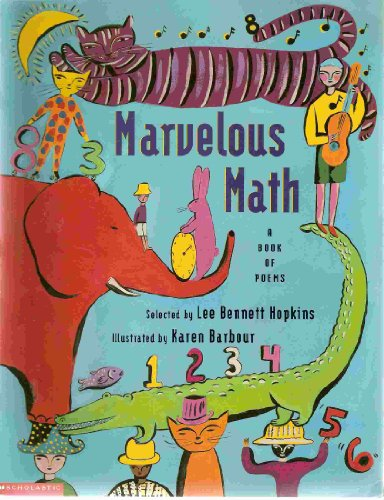 9780590632409: Marvelous Math ..a Book of Poems