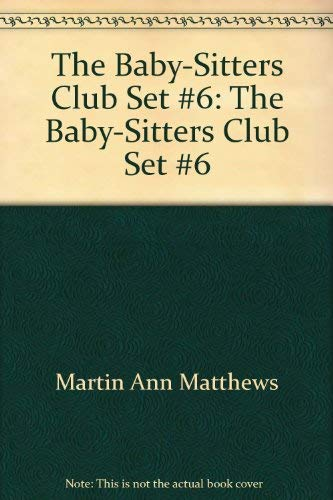 9780590634045: The Baby-Sitters Club Set #6: The Baby-Sitters Club Set #6