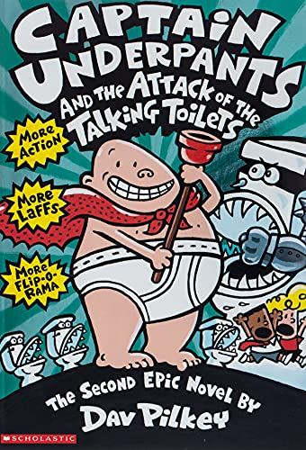 9780590634274: Captain Underpants and the Attack of the Talking Toilets