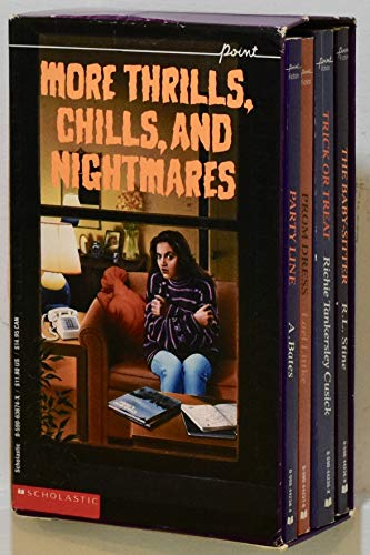 9780590636742: More Thrills, Chills, and Nightmares/Trick or Treat/the Baby-Sitter/Blind Date/ Party Line (Point Horror Series) [Box set]
