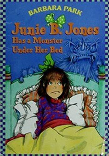 9780590639040: JUNIE B. JONES HAS A MONSTER UNDER HER BED