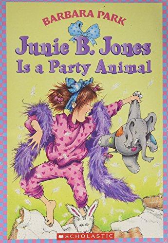 9780590639170: Junie B. Jones Is a Party Animal (Junie B. Jones, No. 10)