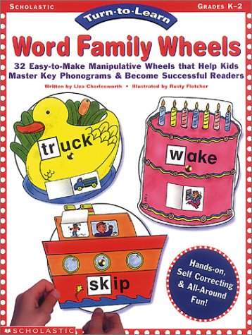 9780590643764: Turn to Learn: Word Family Wheels