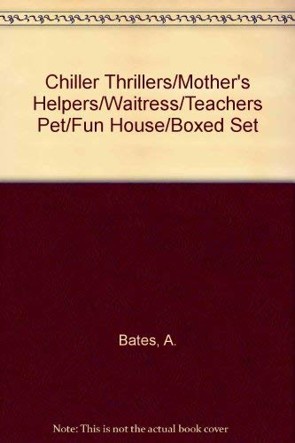9780590662505: Chiller Thrillers/Mother's Helpers/Waitress/Teachers Pet/Fun House/Boxed Set