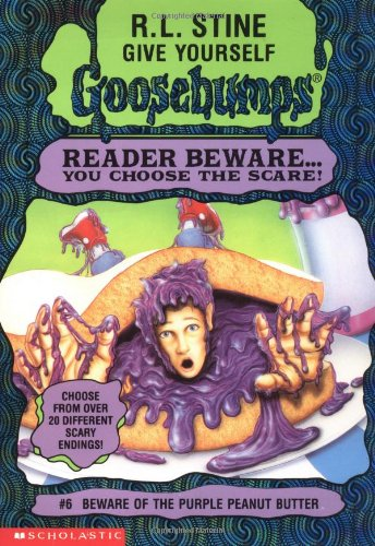 9780590673204: Beware of the Purple Peanut Butter (Give Yourself Goosebumps, No 6)
