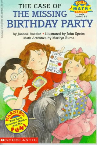 9780590673594: Case Of The Missing Birthday Party: Hello Math (Hello Math Reader, Level 4)