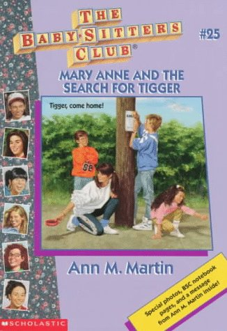 Mary Anne and the Search for Tigger: Martin, Ann Matthews