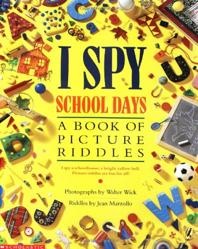 9780590674416: I Spy School Days: A Book of Picture Riddles