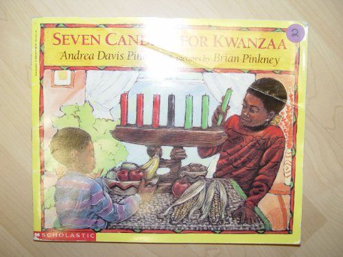 9780590677264: Seven Candles for Kwanzaa (First Scholastic Printing, December 1995)