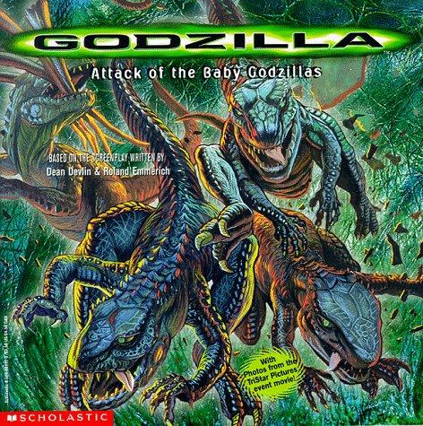 9780590681124: Attack of the Baby Godzillas (GODZILLA (MOVIE BOOKS))