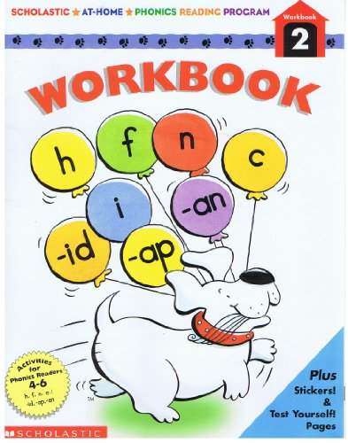 9780590683715: Scholastic At-Home Phonics Reading Program Workbook