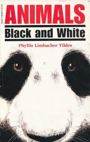 9780590689250: Animals: Black and White