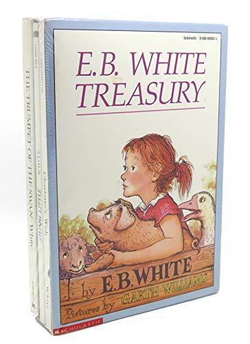 9780590689533: E. B. White Treasury: Charlotte's Web, Stuart Little, The Trumpet of the Swan (Boxed Set)