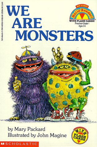 9780590689953: We Are Monsters (Hello Reader)