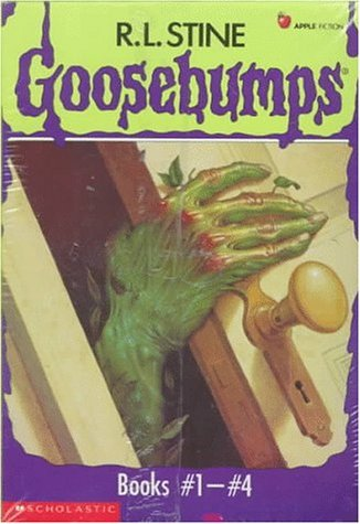 Goosebumps Boxed Set, Books 1 - 4: Welcome to Dead House, Stay Out of the Basement, Monster Blood, ...