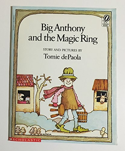 9780590698689: Big Anthony and the Magic Ring