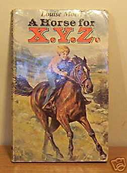 9780590700009: Horse for X. Y. Z.