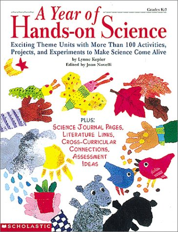 9780590701327: A Year of Hands-on Science (Grades K-3)